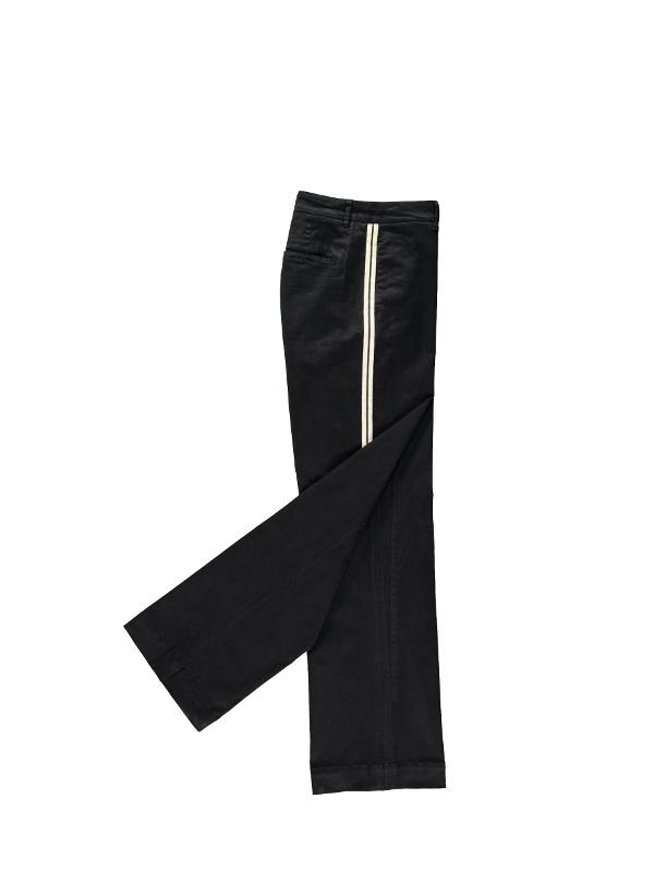 MEOPOLDDINERIB  BL24 - Pantalon (Noir)