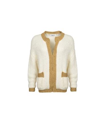 Essentiel Antwerp - MISSIOU OW01 - Cardigan (Blanc cassé)