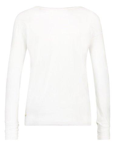 W17F032 WH/NA  - Tshirt blanc + print