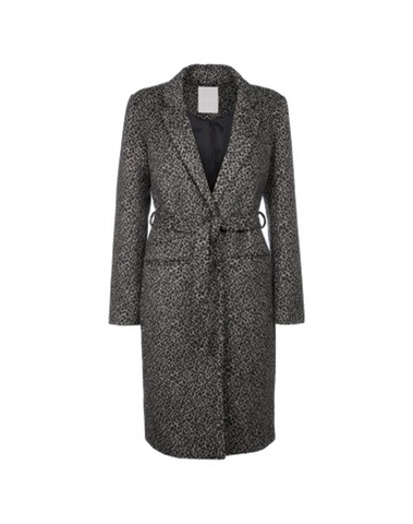 060297 722K - WOOL COAT (Black)