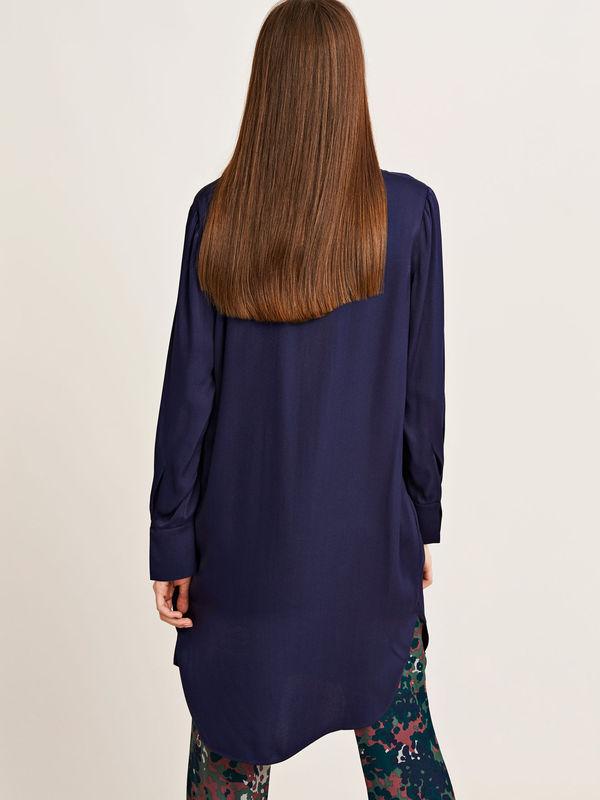 F17102557  10252 - Hamill vn dress 7700 (DARK SAPPHIRE)