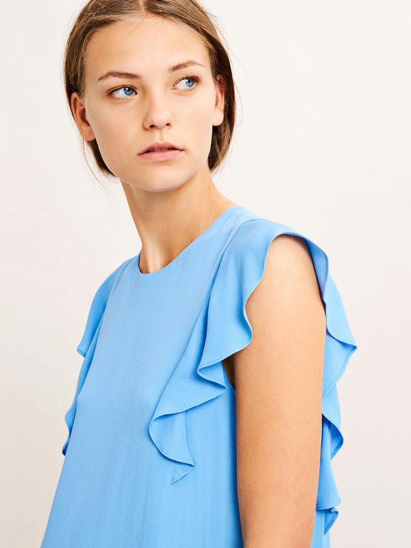 F18102034  10325 -  Mentha s dress 6616  (SILVER LAKE BLUE)
