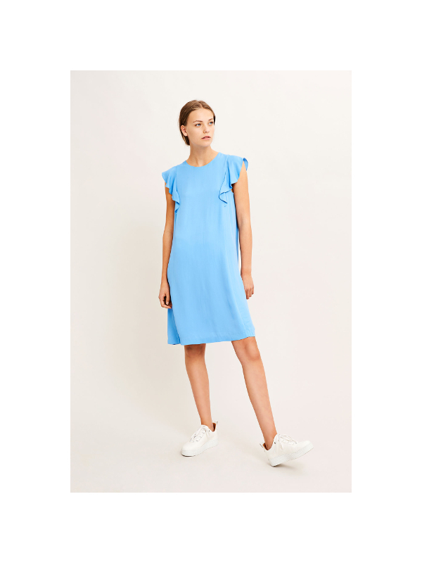 F18102034  10325 -  Mentha s dress 6616  (SILVER LAKE BLUE)
