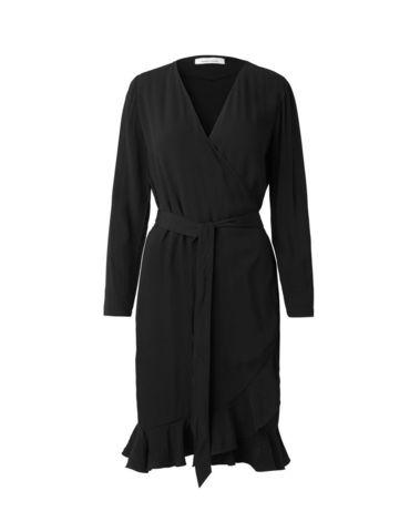 F18102081 00001 - LIMON LS DRESS 6515  (BLACK)