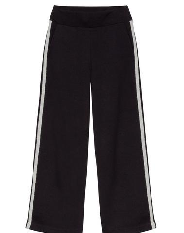 20-044-8103 - WIDE PANTS  (Black)