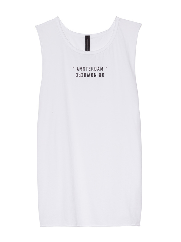 20-461-8103 - SLEEVELESS TOP  (White)