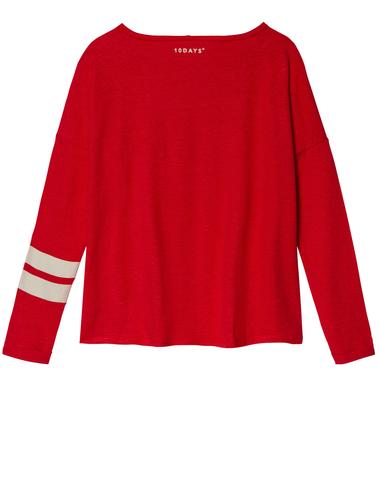 20-784-8103 - LONGSLEEVE TEE (Fluor Red)