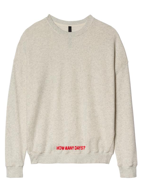 20-800-8103 - SWEATER (White wool mel)