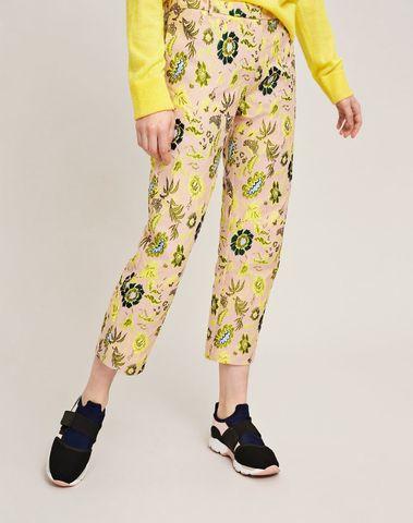 F18304336 00171 - LOUISE CROP PANTS 9901  (Blazing Flower)