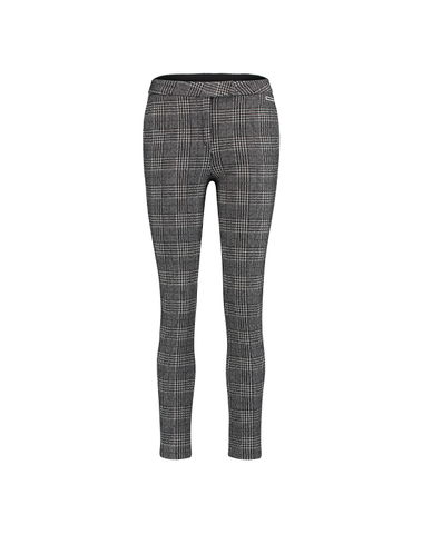 W18F378 90/01 - Trousers check (black/white)