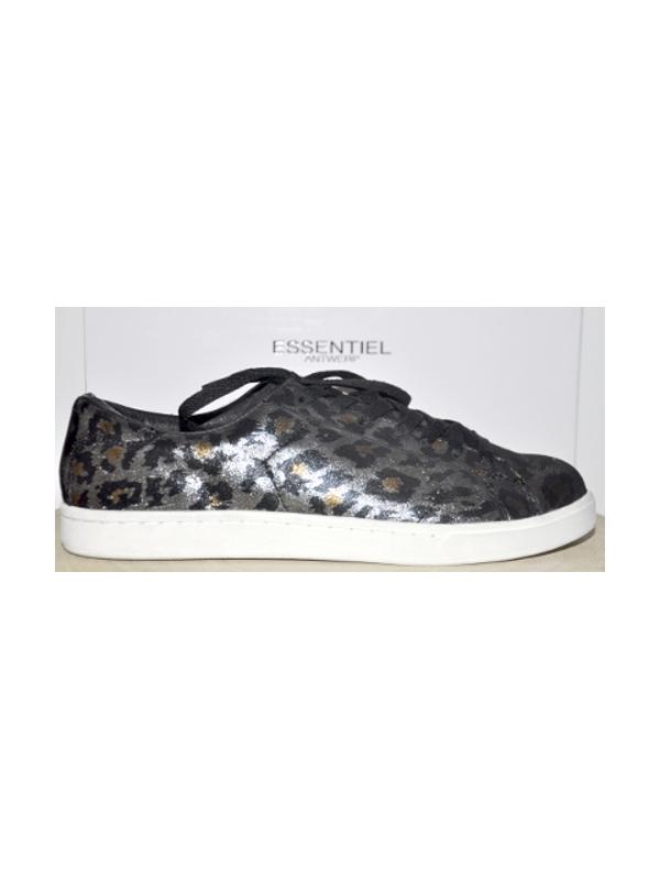 KESHA C1 - Sneakers (Noir/or)