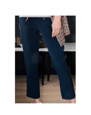 H180702MA - Pantalon (Marine)