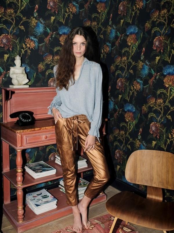 H1807671B - Pantalon cuir (Bronze)
