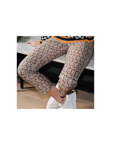 H1808507B - Pantalon jacquard (Orange)