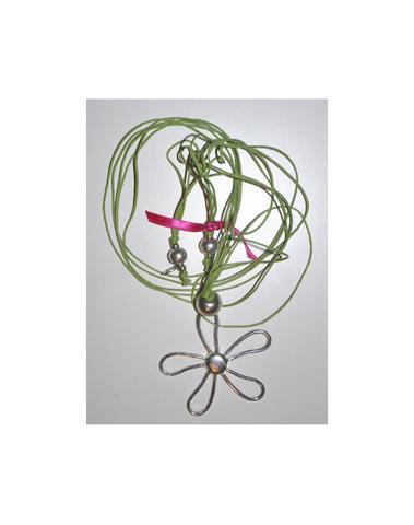 Rose Métal - COL2-vert
