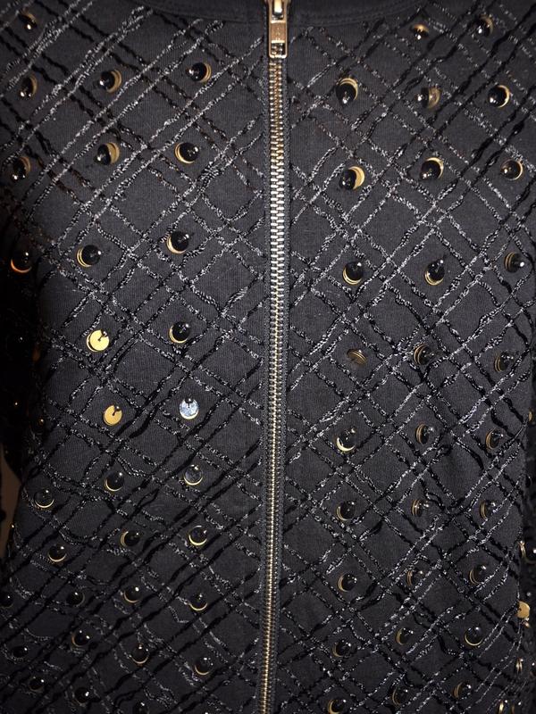 Essentiel Antwerp - HALA C2 - Blouson sequins (Noir)