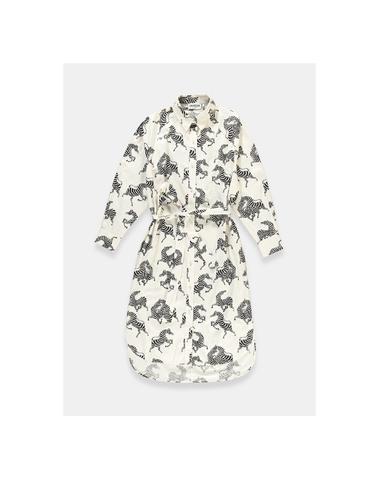 SQUEAKY S3OW - Robe (Off White)