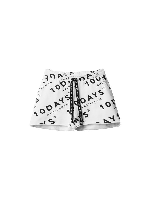 20-215-9101  1001 - SHORTS LOGO DIAGONAL (white)