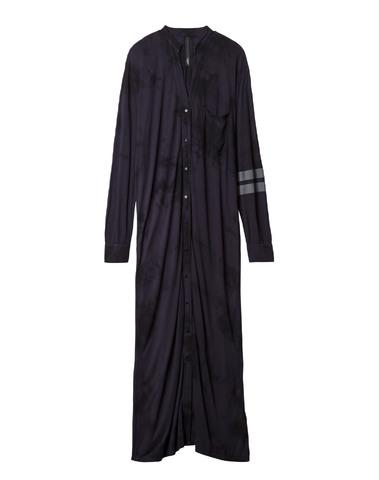 20-403-9101   1019 - LONG SHIRT DRESS TIE DYE (dark grey blue)