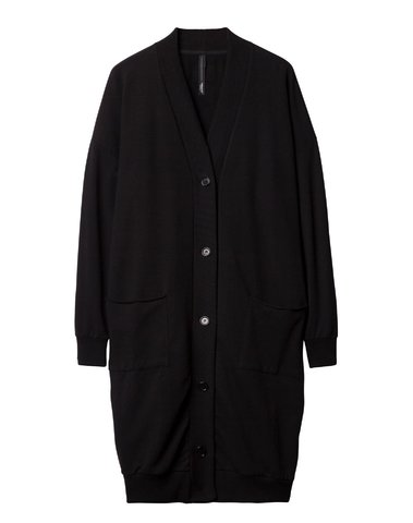 20-850-9101 1012  - BIG CARDIGAN   (black)