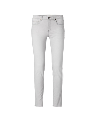 120104-911 - Basic straight jeans (Grey denim)