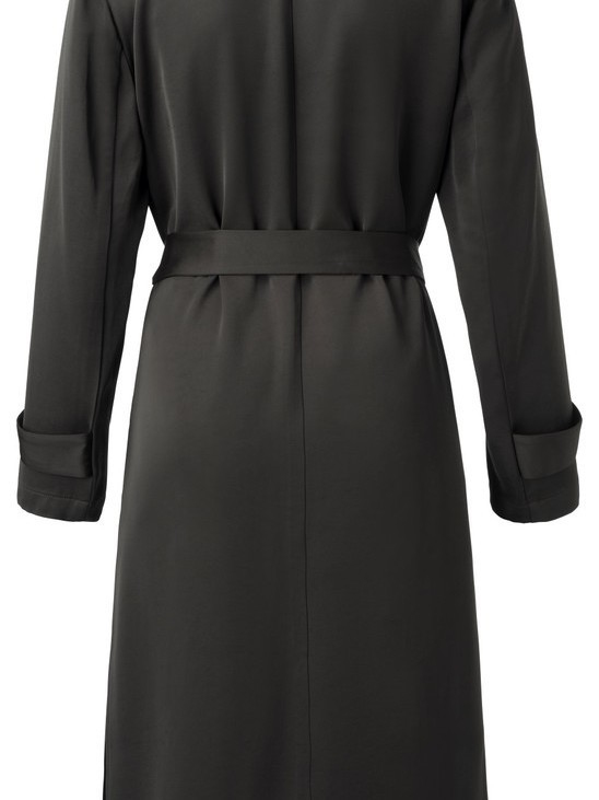 150116-911 - Satin blazer (Allmost black)