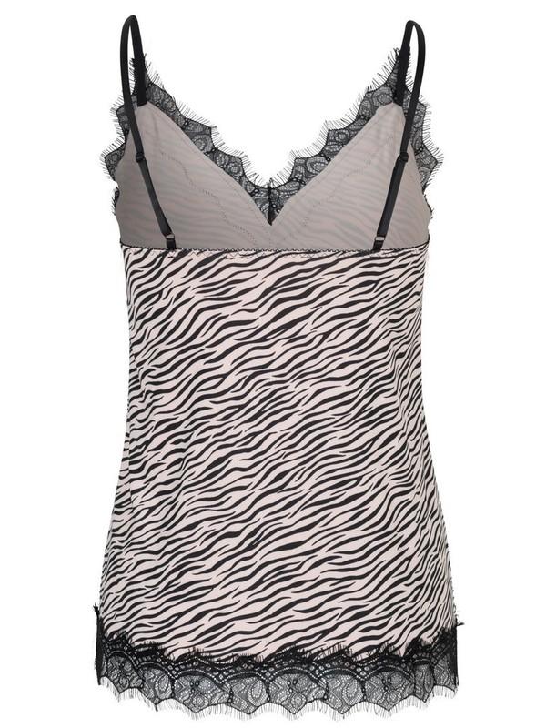 4217-9315 - Strap top BILLIE (Vintage Zebra Print)