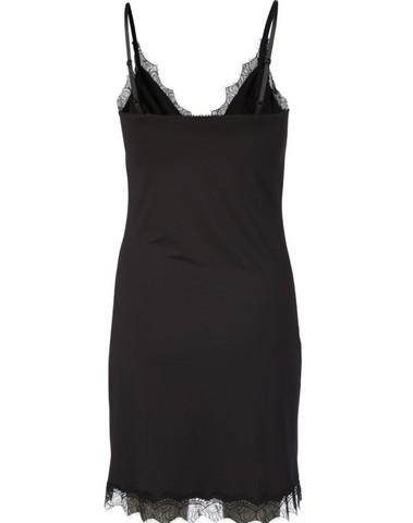 4218-010 - Strap dress BILLIE (Black)