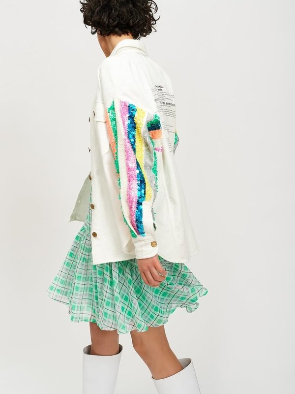 TOOTH OW01  - JACKET (OFF WHITE)