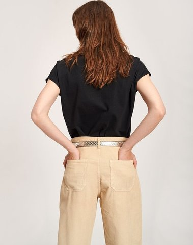 TROUBLED BU02 - PANTALON  (BUTTER)