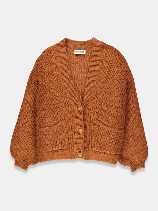TRY GB04 - CARDIGAN  GOLDEN BROWN)