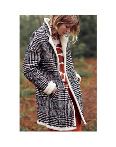 H19091975 - Manteau (Carreaux)