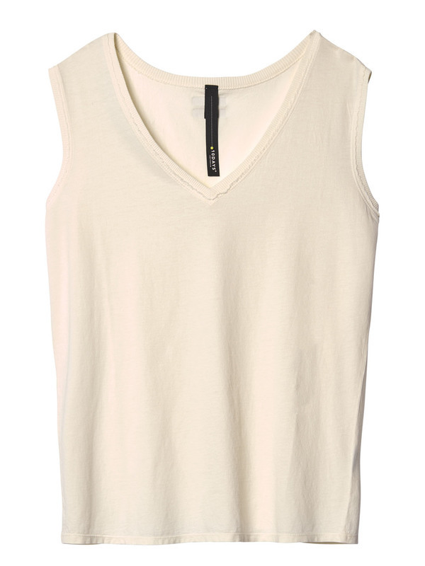 20-461-9103 1043 - sleeveless top (winter white)