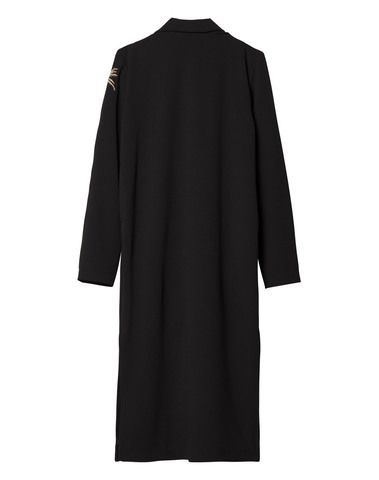 20-501-9103 1012 - long blazer palm (black)