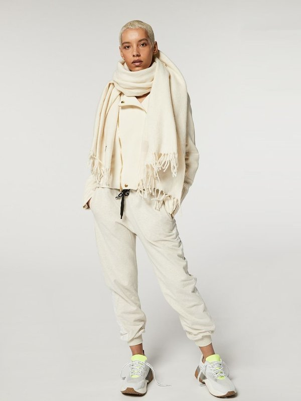 20-508-9103 1043 - biker jacket velvet fleece (winter white)