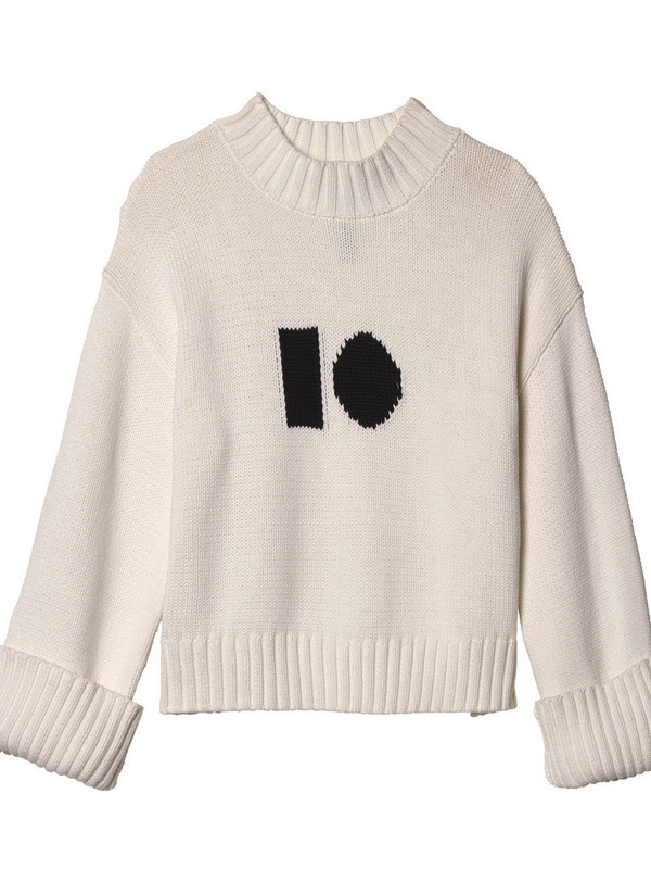 20-603-9103 1002 - big sweater (ecru)