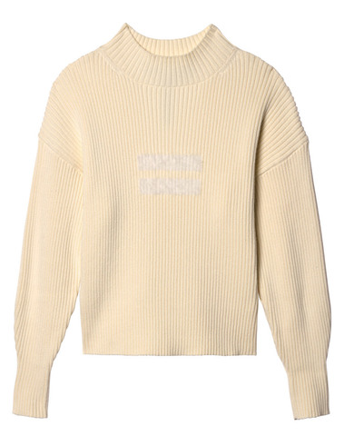 20-604-9103 1043 - sweater rib (winter white)