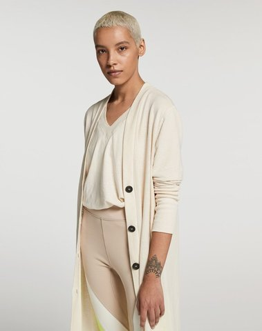 20-859-9103 1043 - linen cardigan XL (winter white)