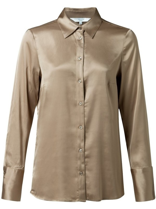 110105-922 71320 - Satin shirt (Sand)