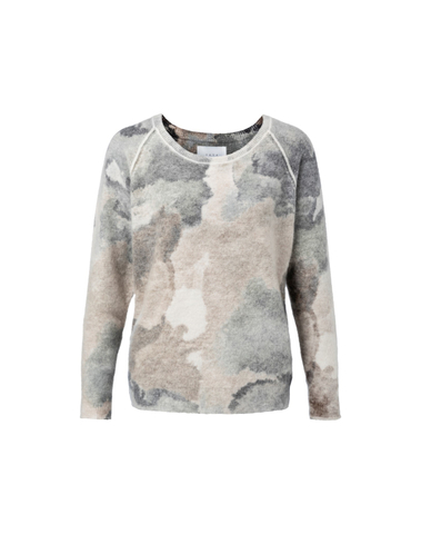 1000161-923 991861 - Sweater with all-over print (Bone white dessin)