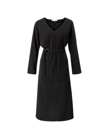 1809143-923 00001 -  Belted dress (black)