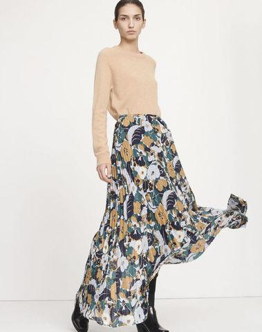 F19103696 00182- Juliette l skirt aop 10798 (Night Meadow)