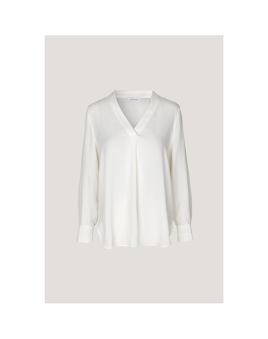 F18413546 10001 - Blouse HAMILL vn (Clear Cream)