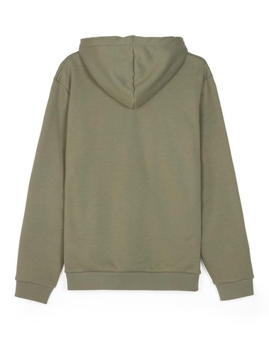 J4507 402 -  Embroidered Hooded Sweatshirt  (Khaki)