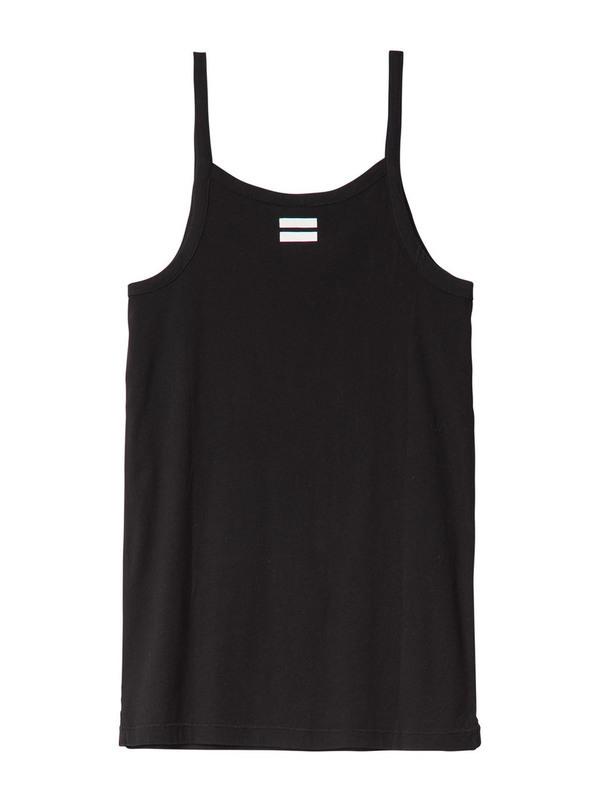 20-461-0201 1012 - TANK TOP EYELET (BLACK)