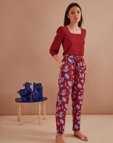 1E200458 IM654 - Pantalon SOPHIE  (OASIS)