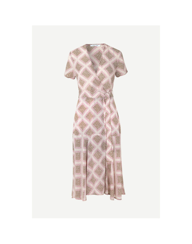 F20200158 00175 - Klea long dress aop (Foulard)