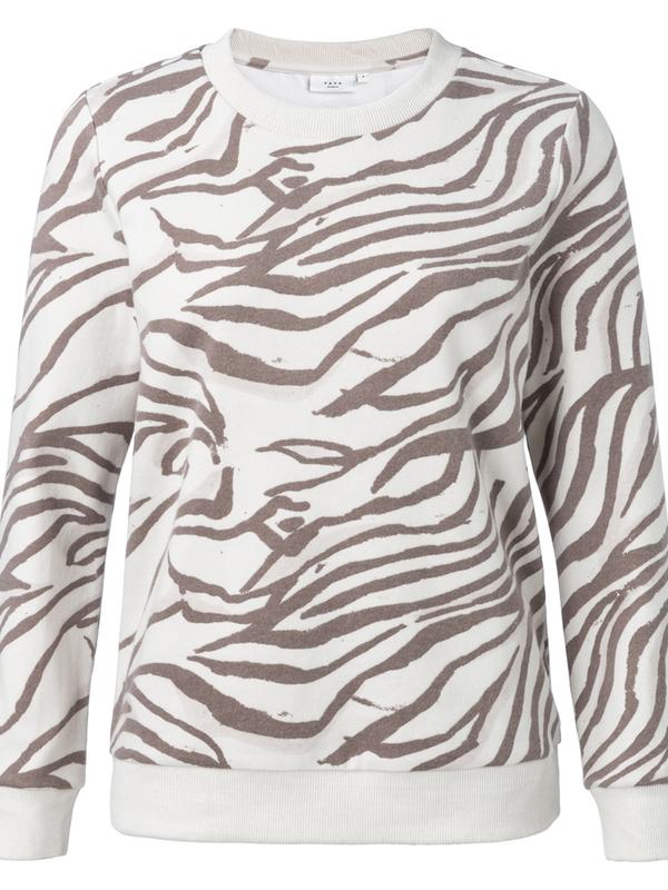 1009280-011 400021 - Sweatshirt with animal print (Ligth sand dessin)