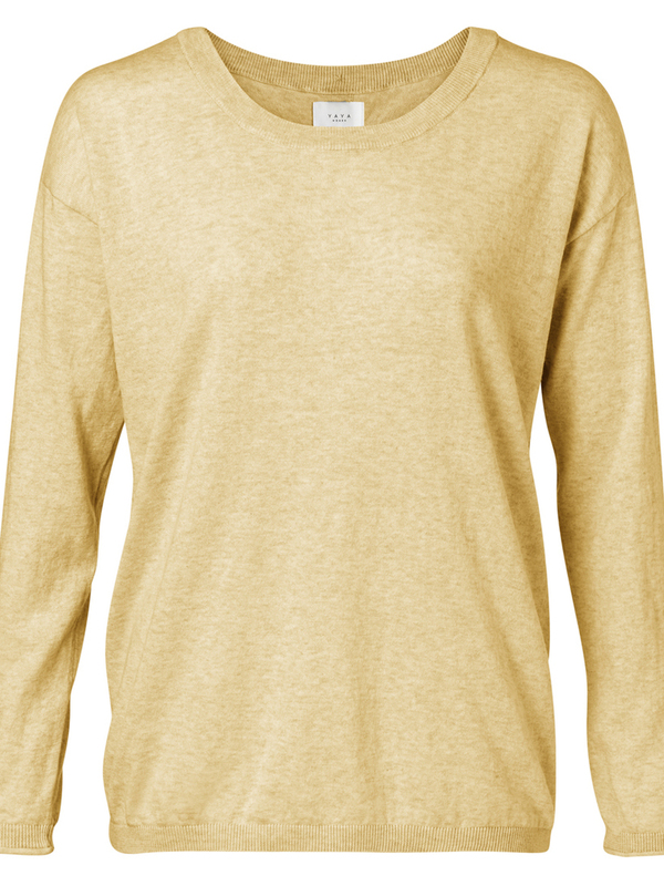 1000217-013 - Sweater buttons (Mellow yellow mel.)