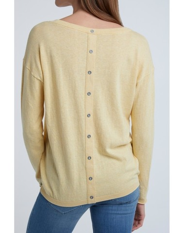 1000217-013 - Sweater buttons (Mellow yellow mel.)